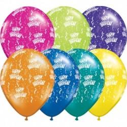 Palloncini Happy Birthday 40 cm