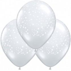 Palloncini Star White 40 cm