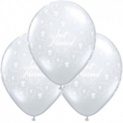 Palloncini Just Married 40 cm