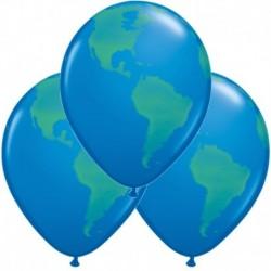 Palloncini Pianet Terra 40 cm