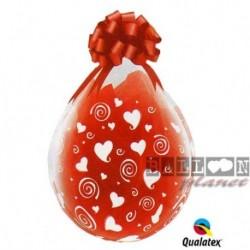 Palloni Heart White 45 cm