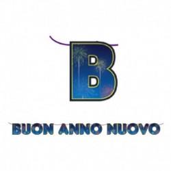 Festone Buon Anno Nuovo 600 cm