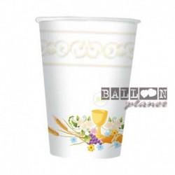 10 Bicchieri Carta Comunione 200 ml