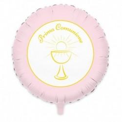Pallone Rosa Comunione 60 cm