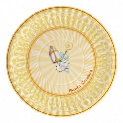 10 Piatti Carta Cresima 23 cm