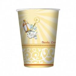 10 Bicchieri Carta Cresima 200 ml
