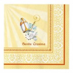 20 Tovaglioli Carta Cresima 33x33 cm