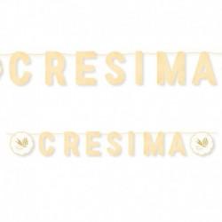 Festone Cresima 600 cm