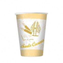 8 Bicchieri Carta Cresima 200 ml