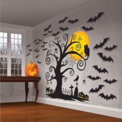Fondale Parete Halloween 330x170 cm