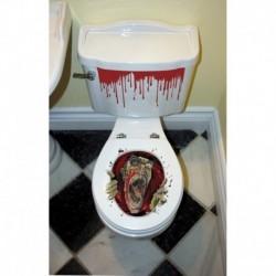 Decorazione Toilette Zombie 60x30 cm