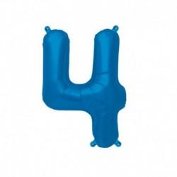 Pallone Numero 4 Blu 40 cm