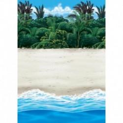 Fondale Spiaggia Tropicale 12x1,2 mt