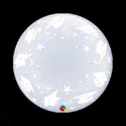 Pallone Deco Bubble Laurea 60 cm
