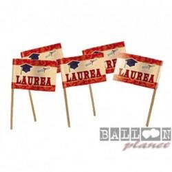 25 Picks Laurea 4x7 cm