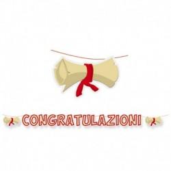 Festone Congratulazioni 600 cm