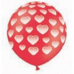 Pallone Cuori 100 cm