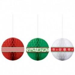 3 Palle Di Natale Nido D'Ape