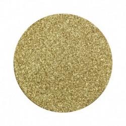 8 Sottobicchieri Oro Glitter 10 cm
