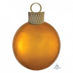 Pallone Natale Orbz Oro 40 cm