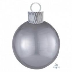 Pallone Natale Orbz Argento 40 cm