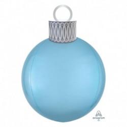 Pallone Natale Orbz Azzurro 40 cm