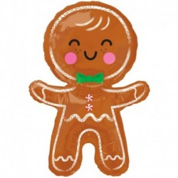 Pallone Gingerbread Man 55x78 cm
