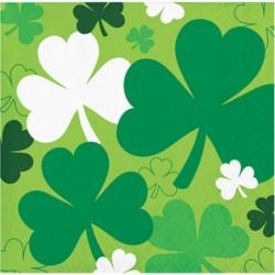 16 Tovaglioli Carta St Patrick 25x25 cm