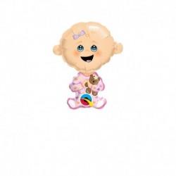 Pallone Bebè Rosa 30 cm