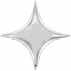 Pallone Starpoint Argento 100 cm