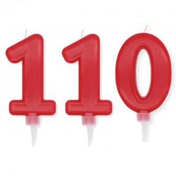 Candela Plump Rossa Numero 110