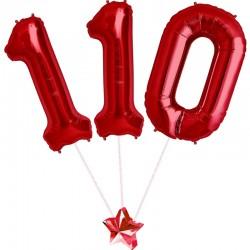 Composizione 110 Rosso