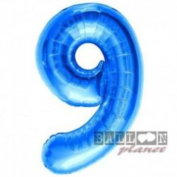 Pallone Numero 9 Blu 90 cm