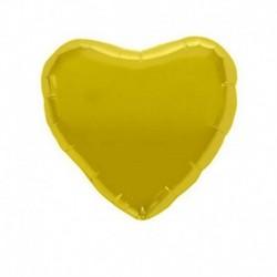 Pallone Cuore Oro 45 cm