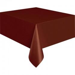 Tovaglia Plastica Marrone 137x274 cm