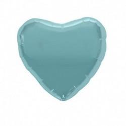 Pallone Cuore Azzurro 45 cm