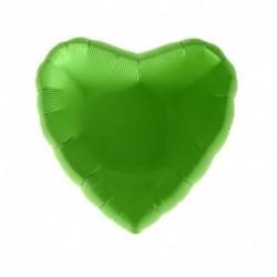 Pallone Cuore Verde Lime 45 cm
