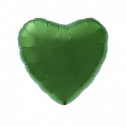 Pallone Cuore Verde Smeraldo 45 cm