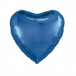 Pallone Cuore Blu Cobalto 45 cm