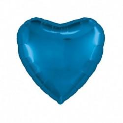 Pallone Cuore Blu 45 cm