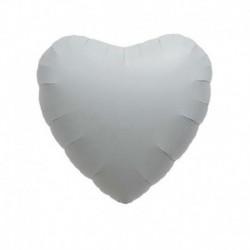 Pallone Cuore Bianco 45 cm