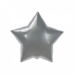 Pallone Stella Argento 45 cm