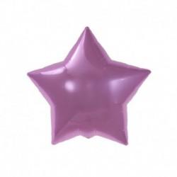 Pallone Stella Rosa 45 cm