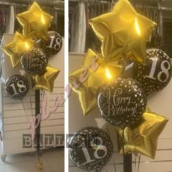 Composizione Bouquet Stars Oro