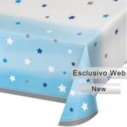 Tovaglia Plastica 1° Compleanno Stellina 137x274 cm