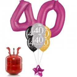 Kit Bouquet Happy Birthday 40 Anni