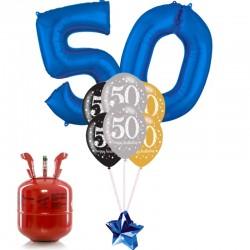 Kit Bouquet Happy Birthday 50 Anni