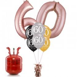 Kit Bouquet Happy Birthday 60 Anni