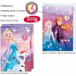 Biglietto Auguri Compleanno Frozen