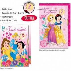 Biglietto Principesse Auguri Compleanno